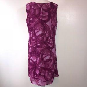 36a7c822f3b2 Simply Vera Vera Wang Dresses - Simply Vera Vera Wang Purple Print Shift  Dress